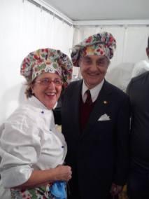 Giuliana Saragoni e Gualtiero Marchesi