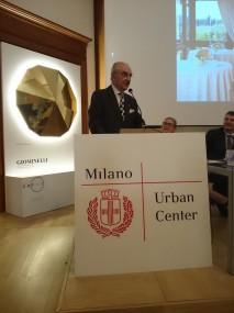 Gualtiero Marchesi alla presentazione del progetto inLombardia