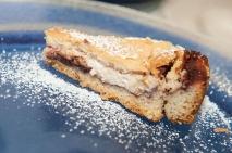 Torta secca di ricotta fresca e confettura di Candonga (La Loncandiera)