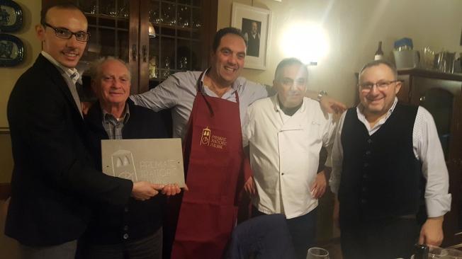 Premiate Trattorie Italiane, Lo Stuzzichino, Napoli, Sant'Agata, Mimmo De Gregorio, Paolo,